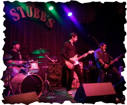 Playing Guitar at Stubb's (not in Raleigh)